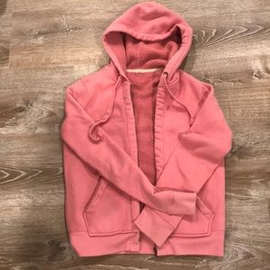 Pink JCrew sweatshirt